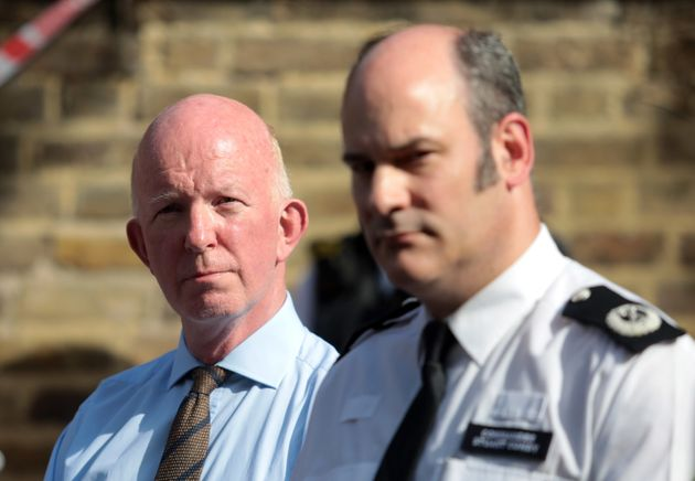 Nick Paget Brown (left, pictured with police Commander Stuart Cundy) stood down last week, reportedly...