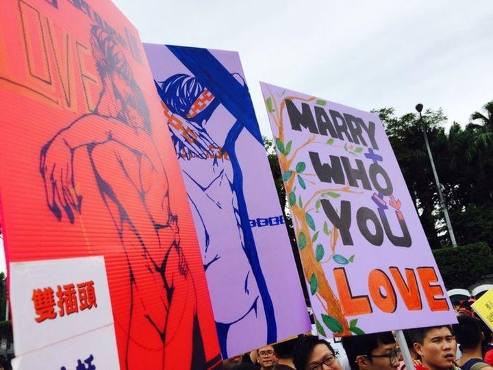 LGBTQ Pride in Taiwan.