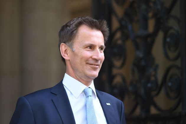 Jeremy Hunt Photographed With Papers Warning 'Hard Brexit Means People Fleeing The