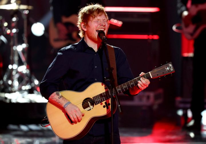 British singer Ed Sheeran, seen performing in March, has announced that he will no longer be using Twitter because of its trolls.