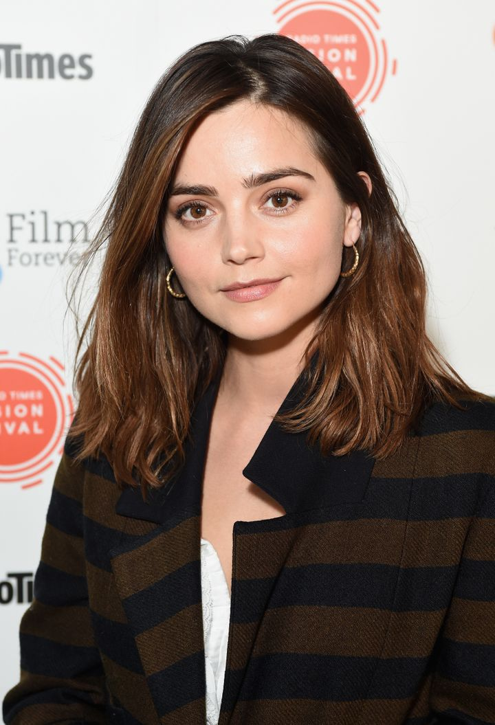 <strong>That's right - it's Jenna Coleman</strong>