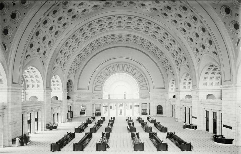 Union Station, Washington, DC. Designed by Daniel Burnham, 1908.