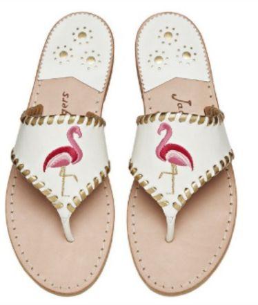 "Exclusive Flamingo Sandal from <a rel=""nofollow"" href=""https://www.jackrogersusa.com/new-arrivals/exclusive-flamingo-sandal-1"
