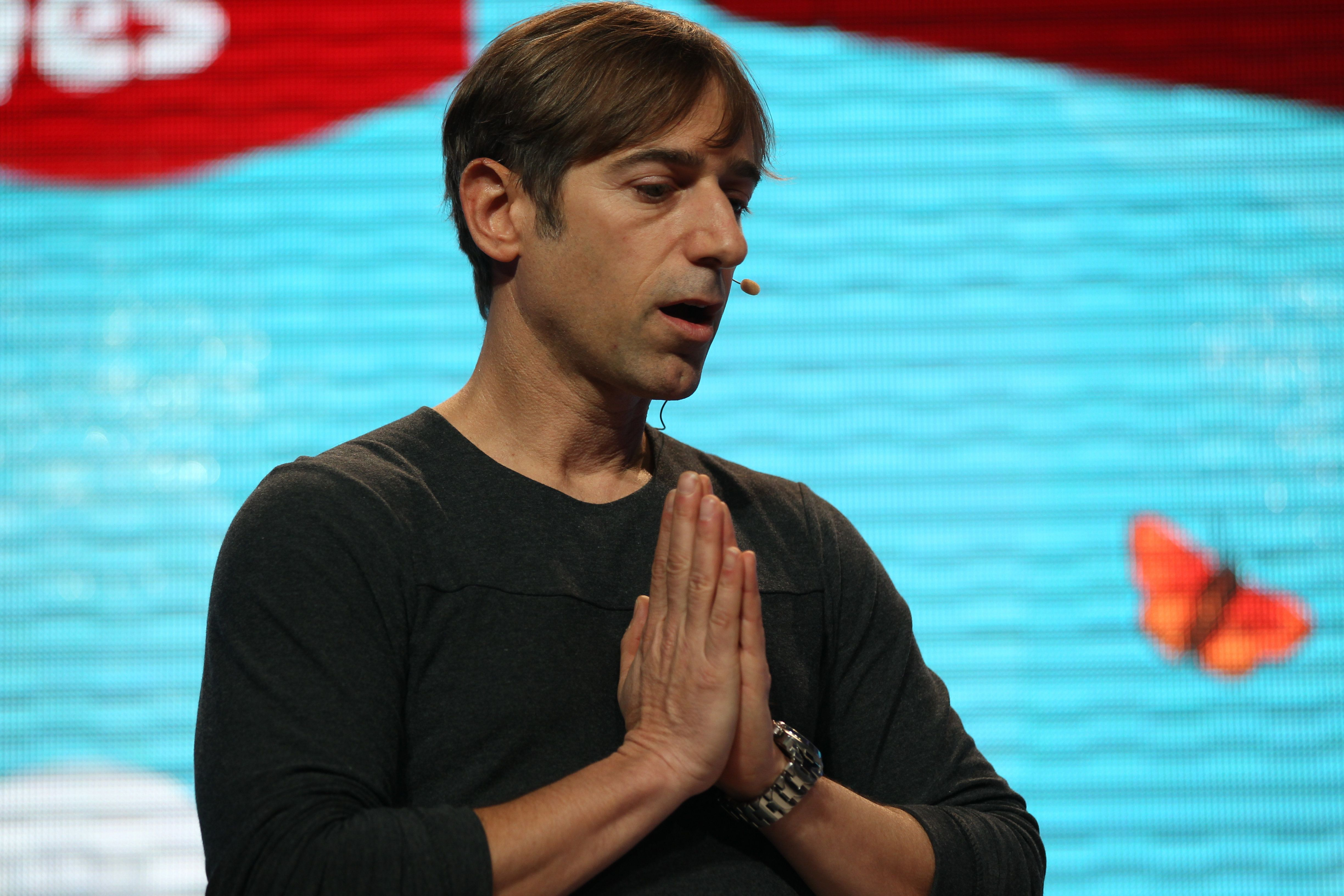 "Mark Pincus, co-founder of Zynga, teamed up with LinkedIn co-founder Reid Hoffman on ""Win The Future,"" which aims to reshape"
