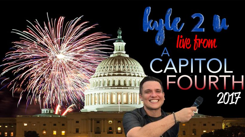 Kyle McMahon heads to the US Capitol for PBS annual A Capitol Fourthwith the always amazing camera girl Alicia Lenoir.