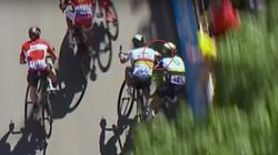 Tour Cyclist Sagan Out After Elbowing Rival Cavendish, Causing