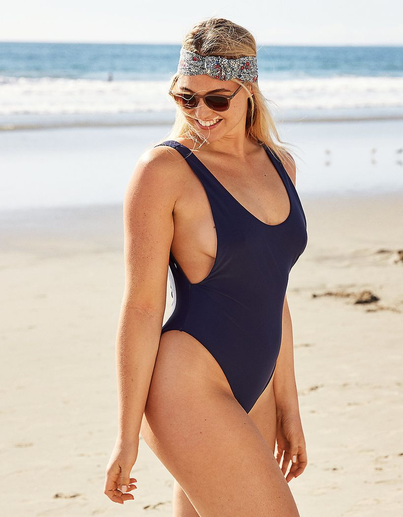 Super Scoop One Piece Swimsuit, Aerie - $25