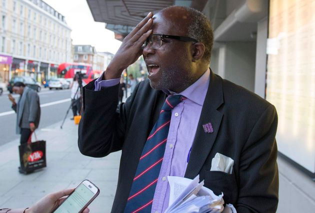 Chris Imafidon said he felt 'insulted' that victims' families were not allowed to ask