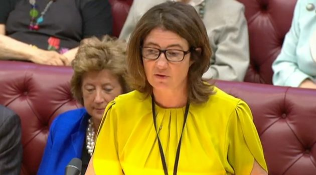 Home Office minister Baroness Williams of Trafford heckeld in the Lords for refusing to