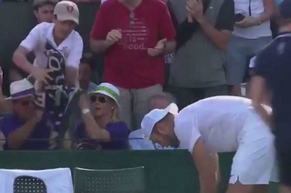 Judy Murray Slams Wimbledon Spectator Who Snatches Player's Towel From Young