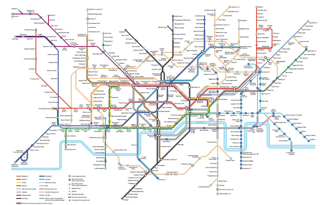 TfL's New Tube Map Could Revolutionise Travel For People With
