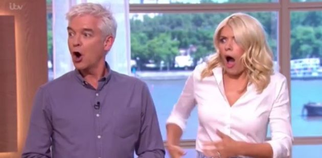 Holly Willoughby was terrorised by a bird on 'This