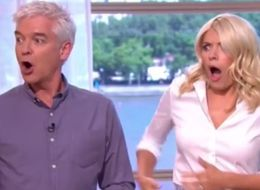 Holly Willoughby Totally Freaks Out As Flying Bird Runs Amok On 'This Morning'