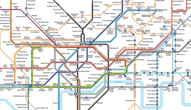 TfL Releases New Tube Map To Help People With Claustrophobia Avoid ...