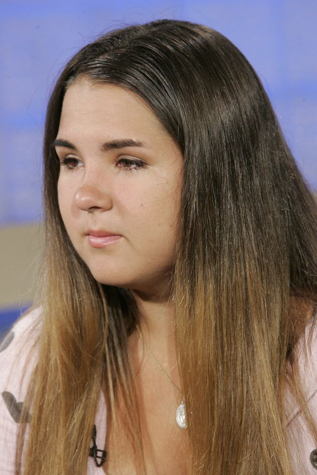 Mee appearing on NBC News in 2007 to talk about her uncontrollable