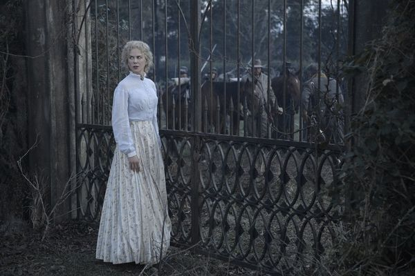 "And now presenting the quote of the year: ""Bring me the anatomy book."" Nicole Kidman, playing the Confederate headm"