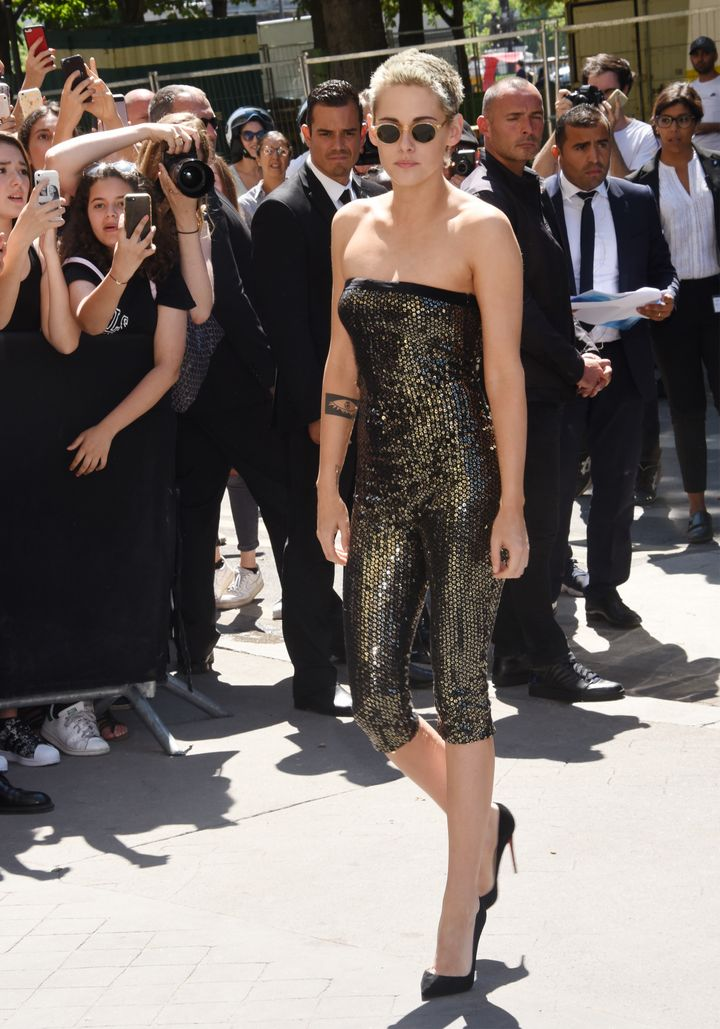 Just another Tuesday look for KStew.