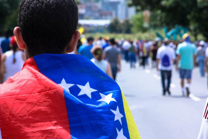 Those who've stayed in Venezuela are there to fight.