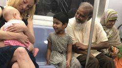 This Viral NYC Subway Photo Is What America Is All