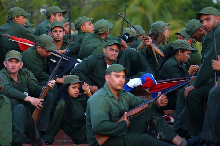 The FAR: ever vigilant against US encroachments on Cuban sovereignty.