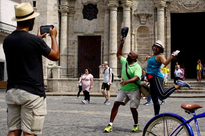 Old Havana is an increasingly popular US tourist attraction. Or, at least, it was.