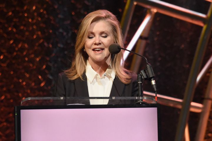 Rep. Marsha Blackburn speaks in Nashville in May.