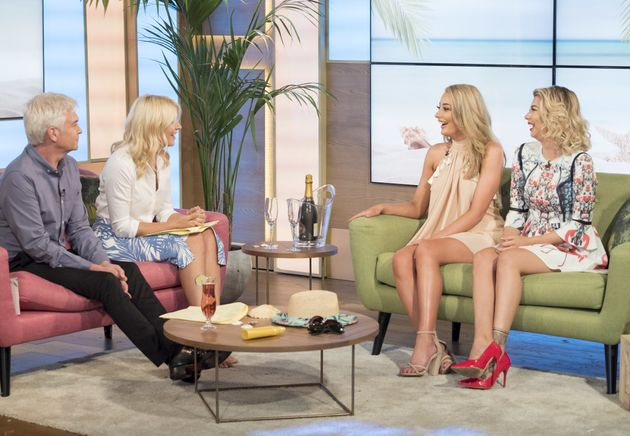 Chloe appeared on the show with Olivia