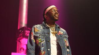 LOS ANGELES, CA - JUNE 25:  Rapper 2 Chainz perfroms onstage at night four of the Late Night Concert during the 2017 BET Experience at The Novo by Microsoft on June 25, 2017 in Los Angeles, California.  (Photo by Paras Griffin/Getty Images for BET)