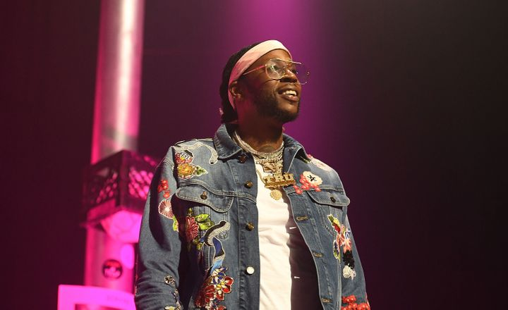 2 Chainz opened the pink trap house topromote his latest album.