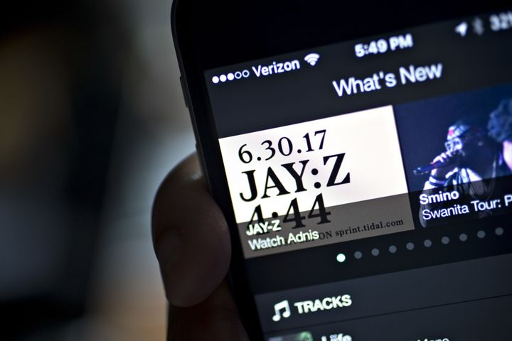 """The distribution of Jay Z's """"4:44"""" was predictablycomplicated."""
