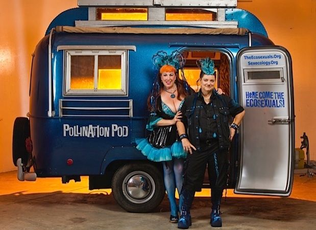 Annie Sprinkle and Beth Stephens