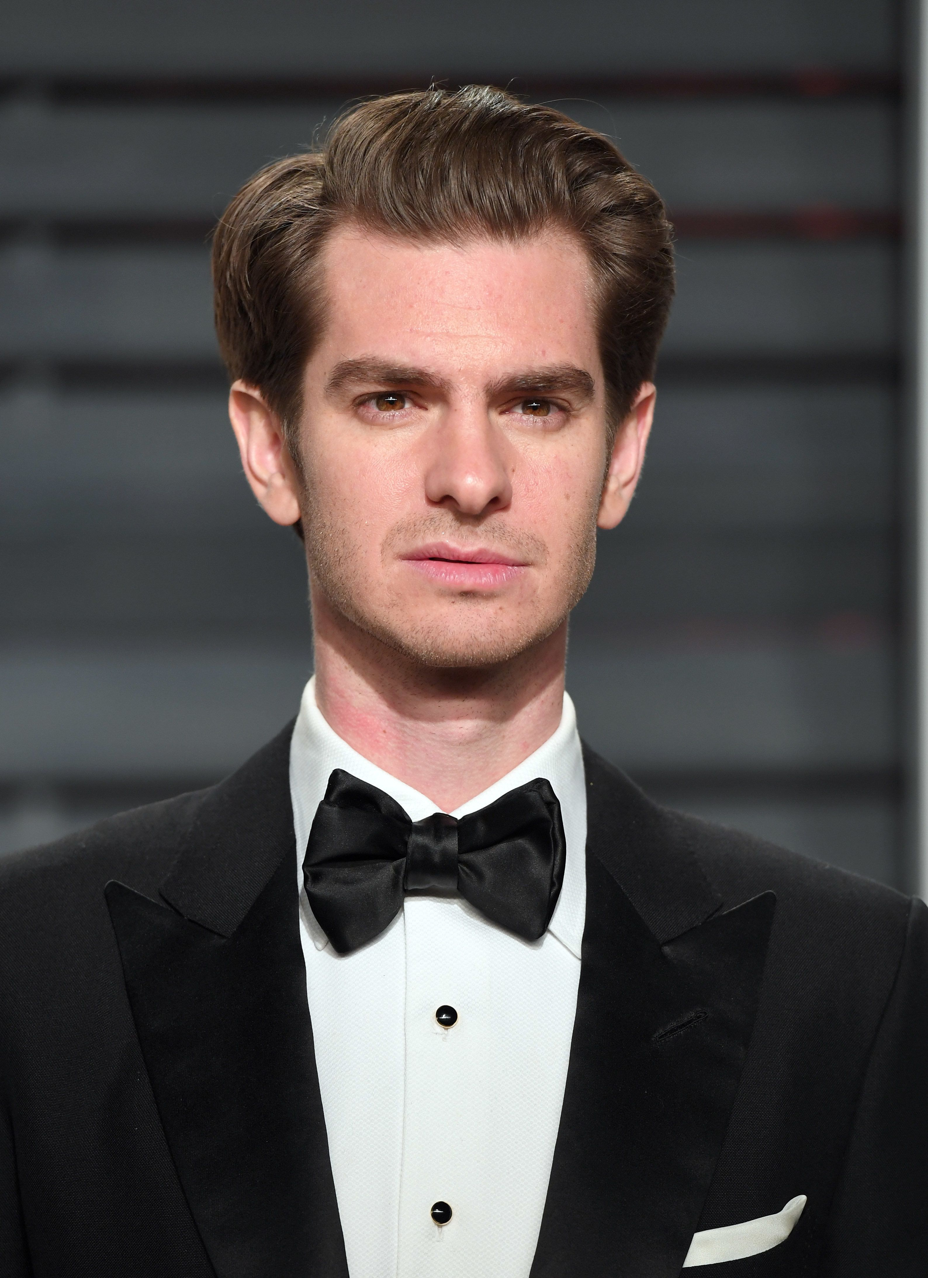 BEVERLY HILLS, CA - FEBRUARY 26:  Andrew Garfield arrives for the Vanity Fair Oscar Party hosted by Graydon Carter at the Wallis Annenberg Center for the Performing Arts on February 26, 2017 in Beverly Hills, California.  (Photo by Karwai Tang/Getty Images)