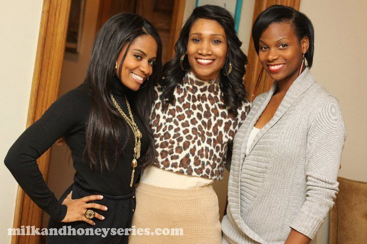 Milk and Honey creators Asha, Dana Jeanette (l-r)