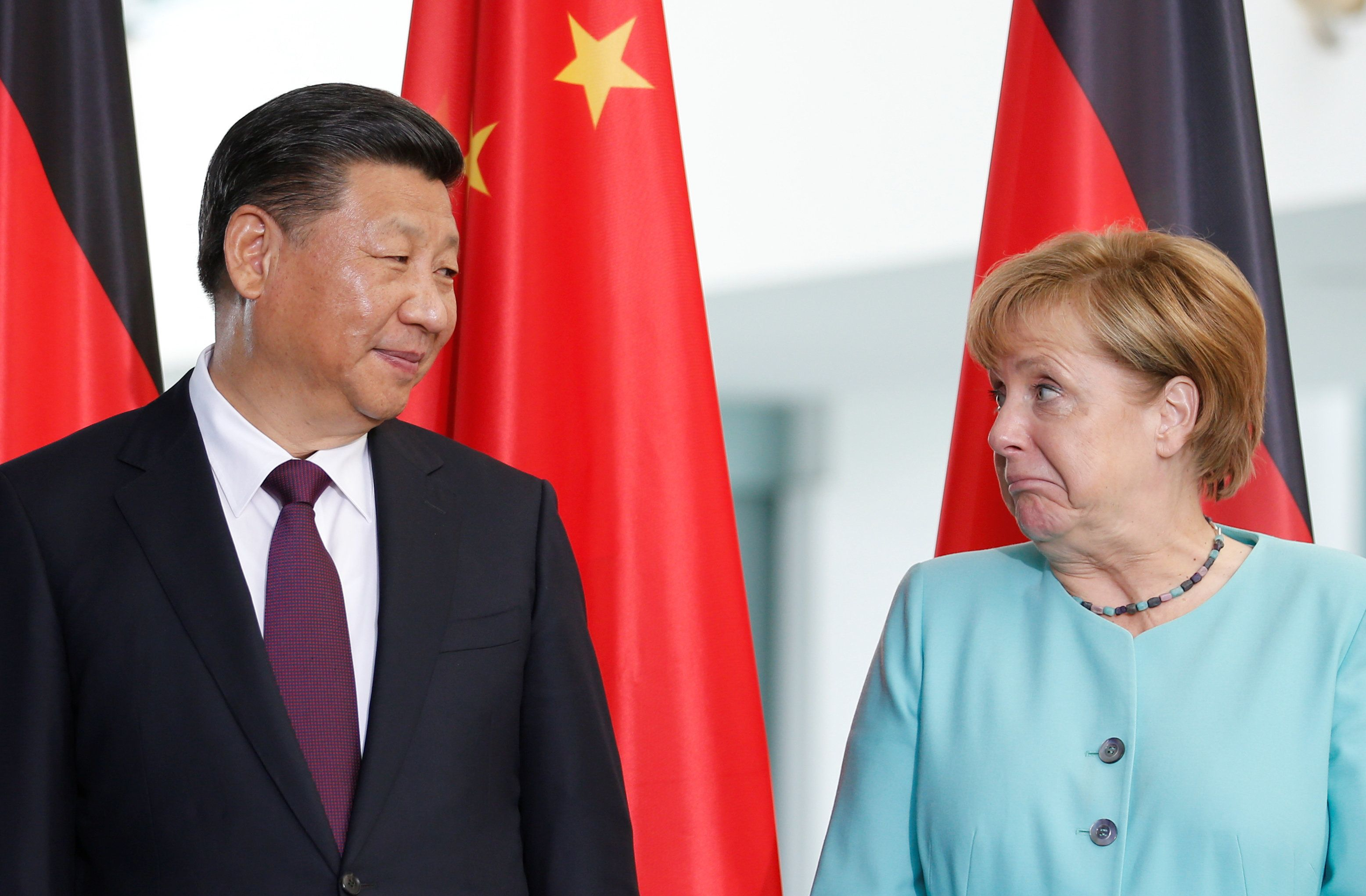 With America No Longer A 'Friend,' Merkel Looks To China As New