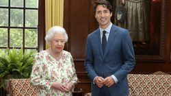 Justin Trudeau Met With The Queen And People's Hearts Couldn't