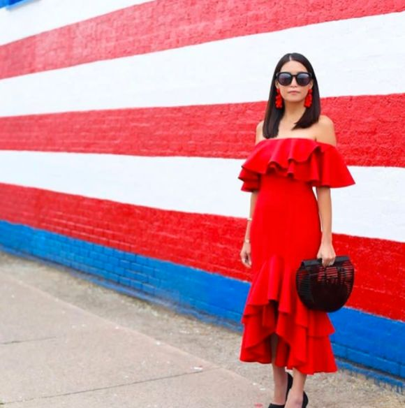 These Red Tassel Earrings Are The New Must-Have Instagram-Worthy Accessory For