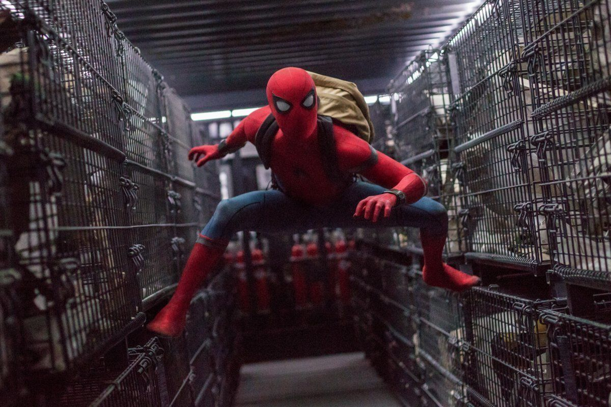 Tom Holland as Peter Parker in the newest iteration of the Spider-Man franchise.