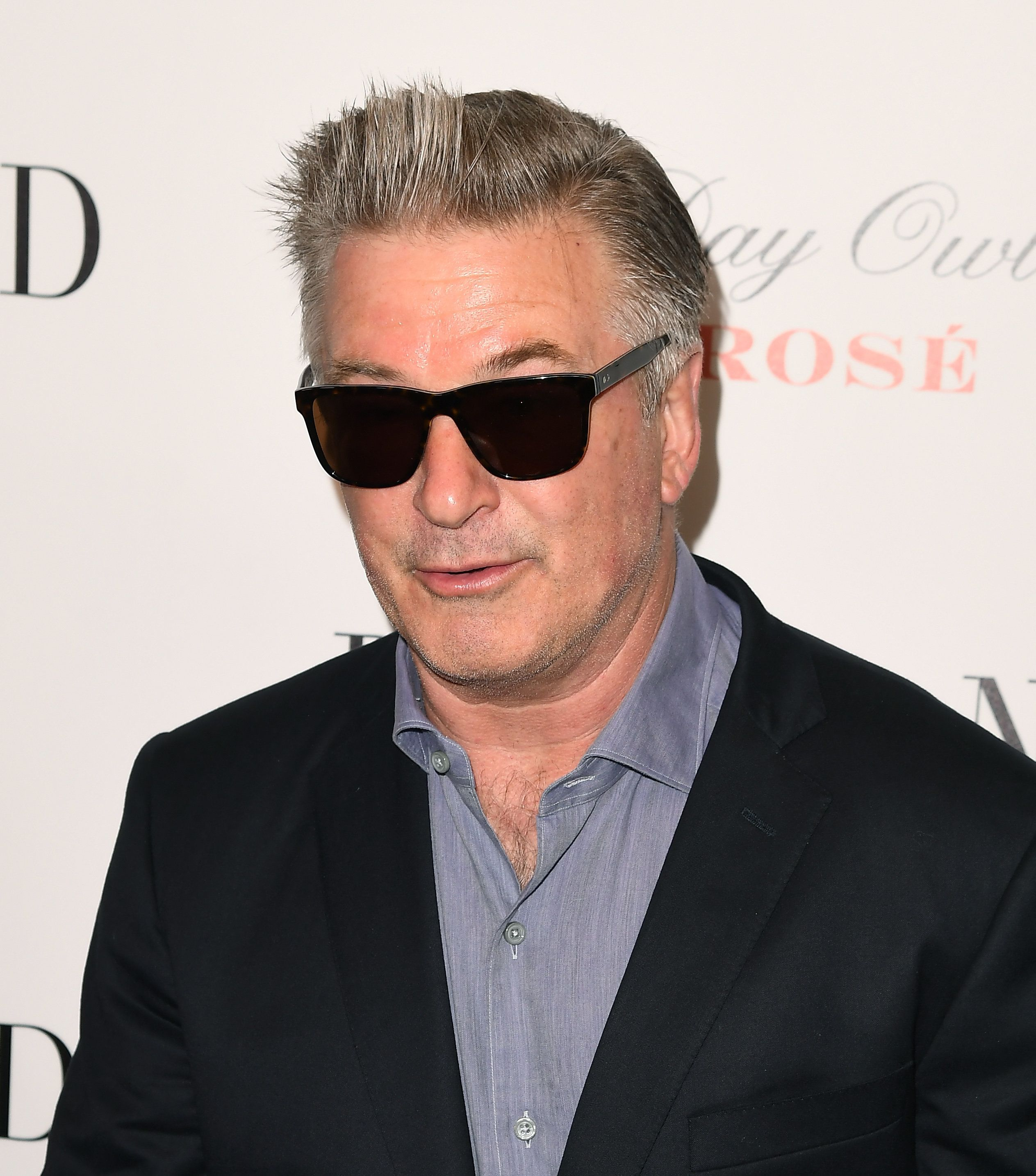 """Actor Alec Baldwin attends the premiere of """"Blind"""" in New York City."""