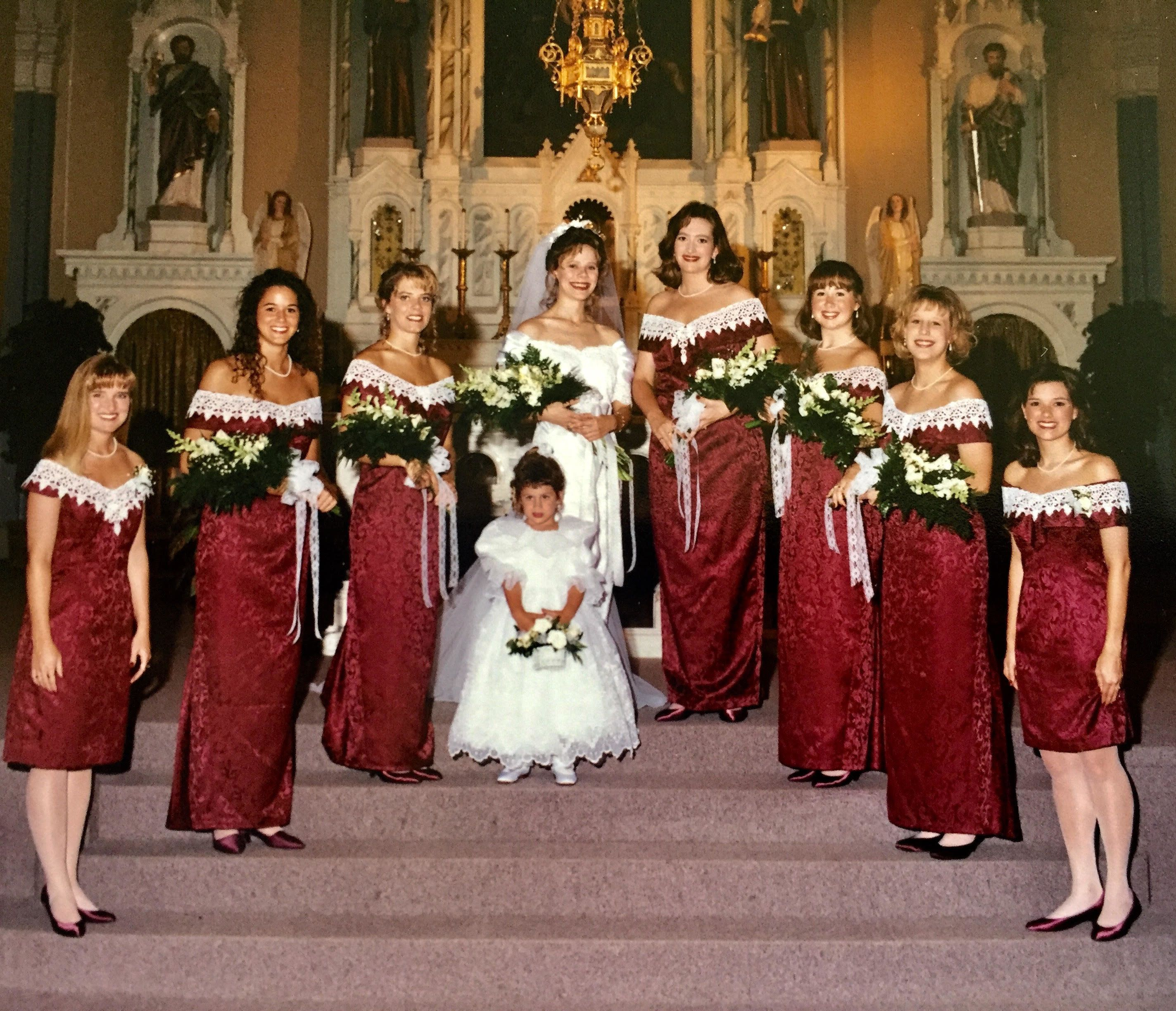 Woman Wore Her '90s Bridesmaid Dress