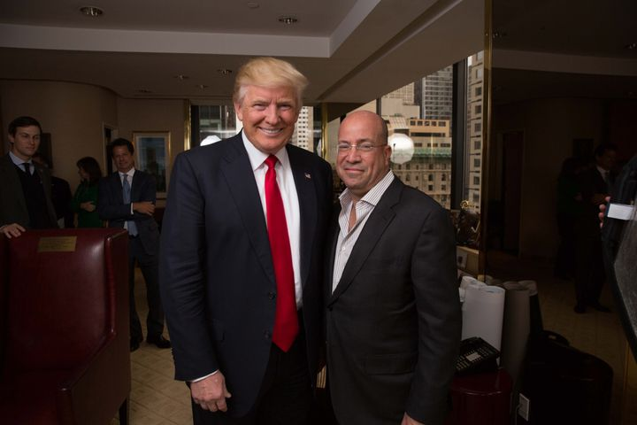 President Donald Trump's relationship with CNN chief Jeff Zucker has soured amid the network's coverage of him.