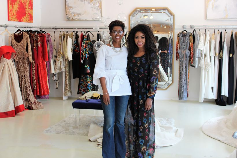 """In the <a rel=""""nofollow"""" href=""""https://shopeseazenabor.com/"""" target=""""_blank"""">Esé Azénabor</a> showroom with the Founder and C"""