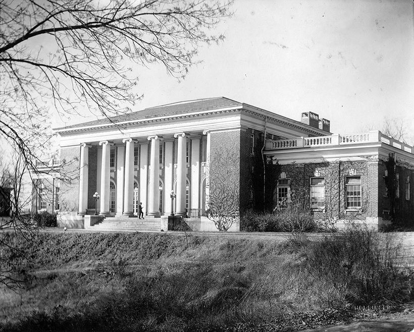 Minor Hall, University of Virginia School of Law; Architect: John Kevan Peebles