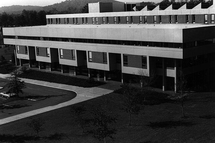 Brown Hall, University of Virginia School of Law; Architect: Hugh Stubbins