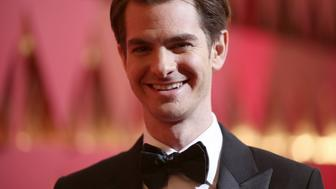 HOLLYWOOD, CA - FEBRUARY 26:  Actor Andrew Garfield attends the 89th Annual Academy Awards at Hollywood & Highland Center on February 26, 2017 in Hollywood, California.  (Photo by Christopher Polk/Getty Images)