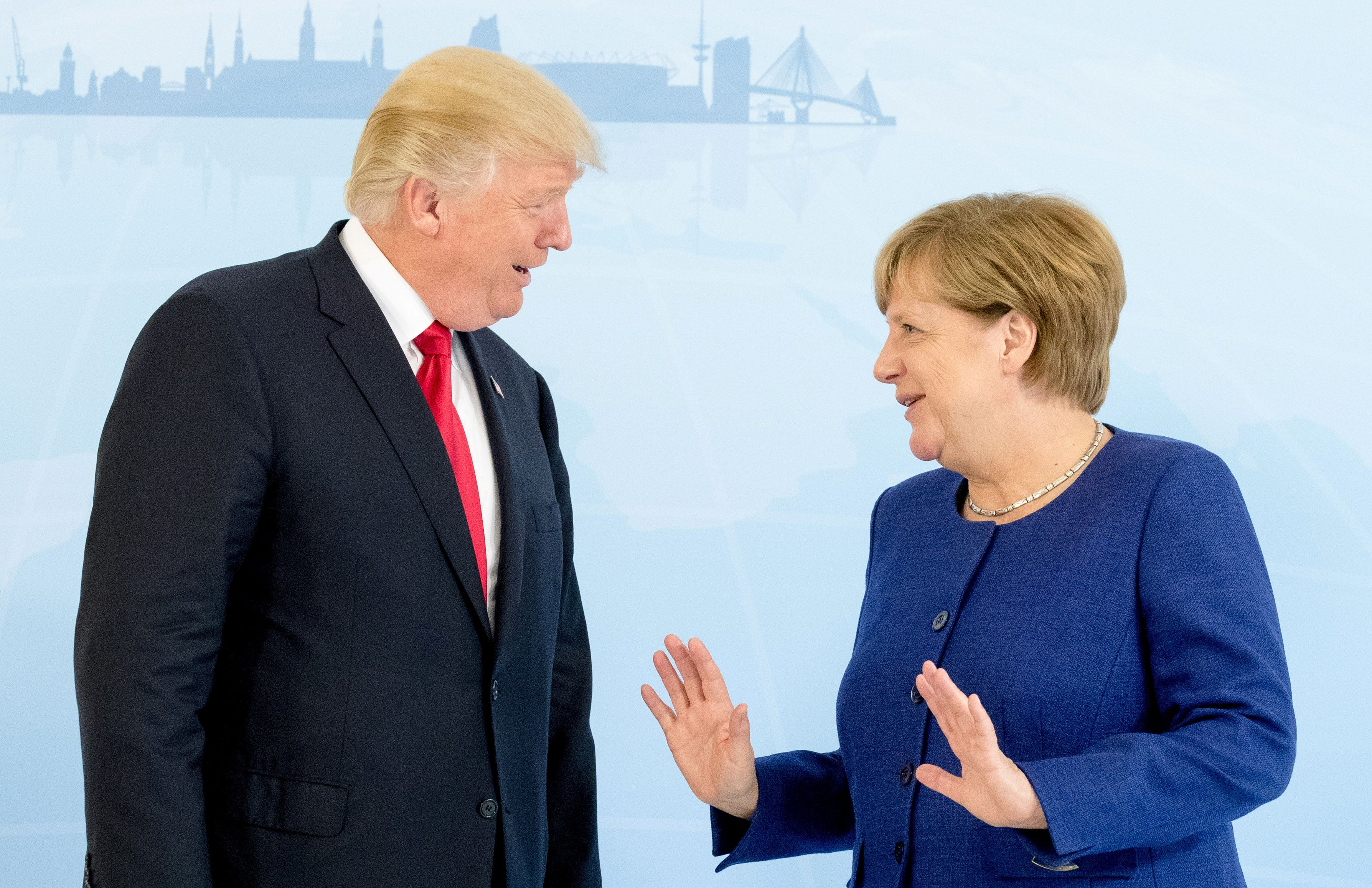 More Americans Trust Merkel Than Trump To Handle Foreign Affairs