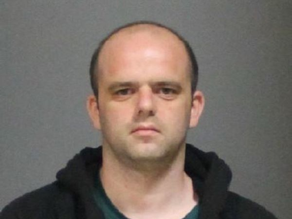 Steven Marks in a booking photo.