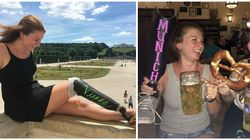 Woman Documents Her Vacation With The Help Of Her Badass Chalkboard