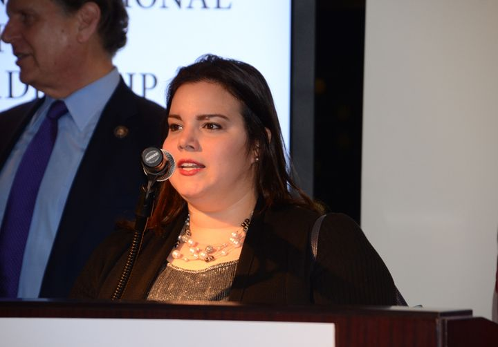 Andeliz Castillo at the Congressional Hispanic Leadership Institute