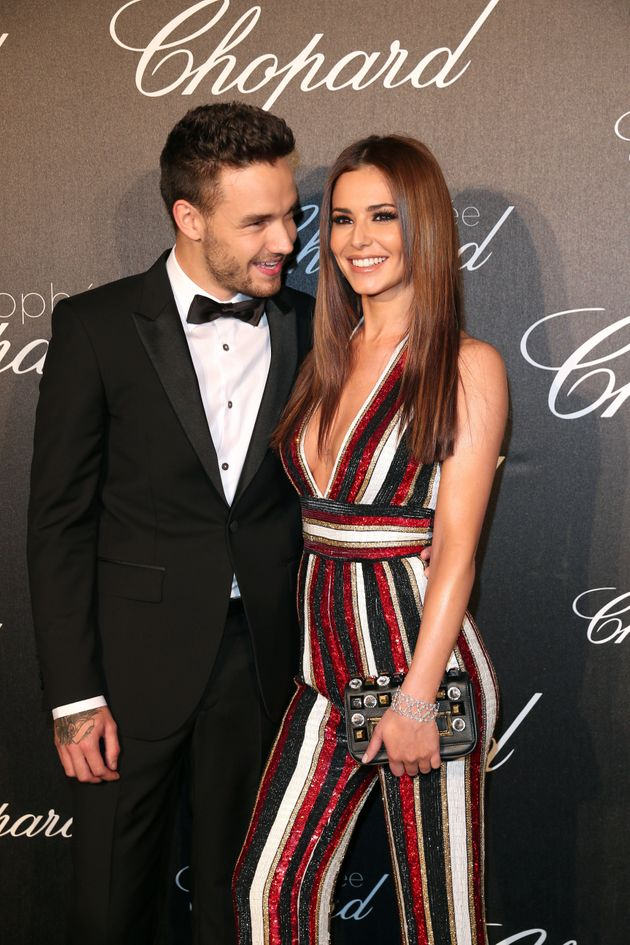 Cheryl and Liam at Cannes last