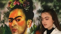 Model Channels A Modern Day Frida Kahlo As She Champions Her